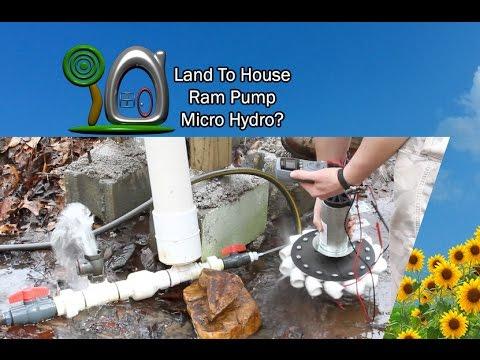 Ram Pump Micro Hydro | Land To House