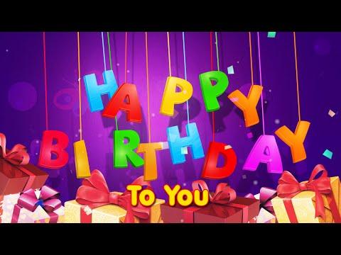 Happy Birthday to you - Parabéns para Você.