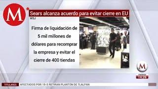 Sears alcanza acuerdo para evitar cierre en EU: WSJ