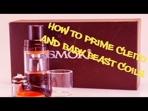How to prime Cleito and Baby Beast coils!