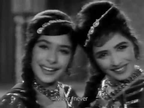 Nahin Nahin - Husn Aur Ishq,1966 (HQ and with subtitle)