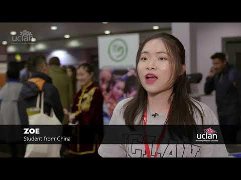 UCLan International Student Orientation Event 2017