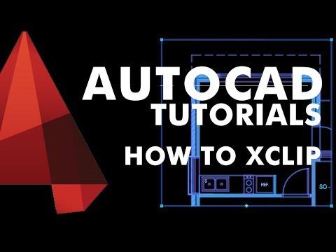 AutoCAD Tutorial 2017 - XCLIP