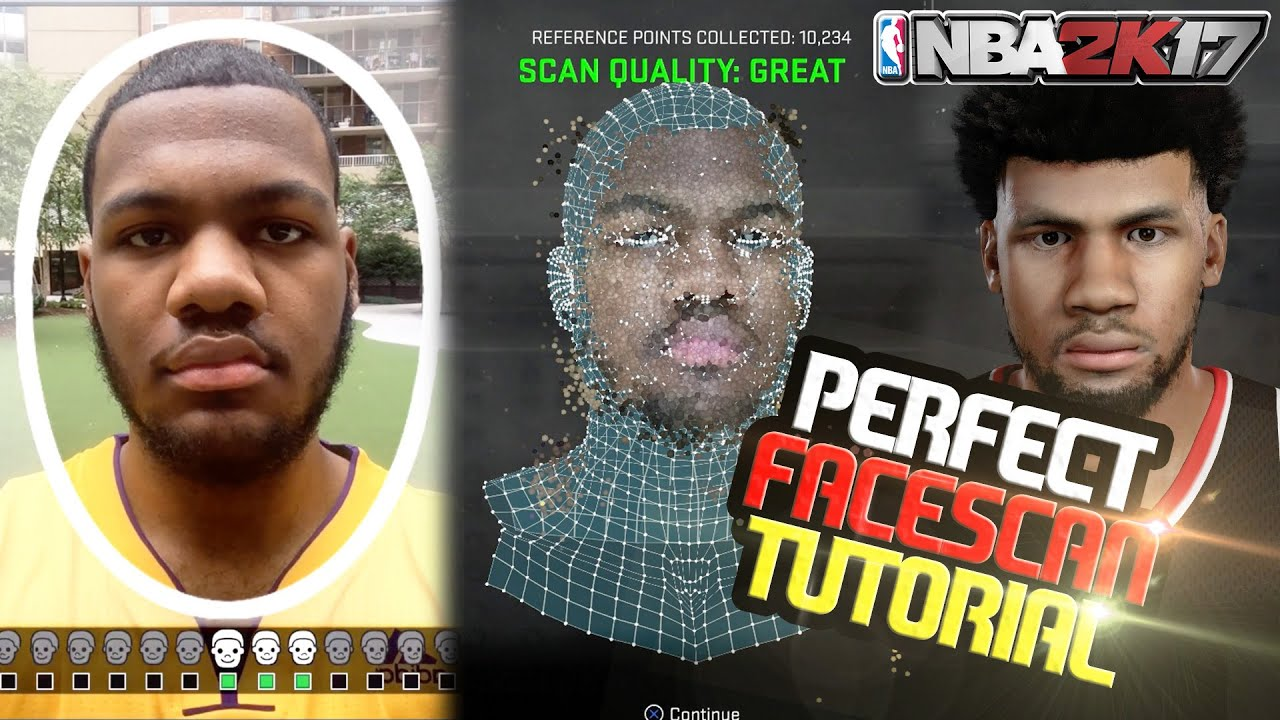 Nba 2k17 mycareer how to make a perfect face scan greatest face nba 2k17 mycareer how to make a perfect face scan greatest face scan tutorial youtube solutioingenieria Image collections