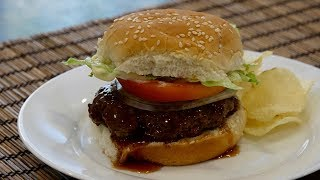 Teriyaki Burger Recipe - Japanese Cooking 101
