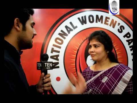 India's First National Women's Party Makes Debut | Dr Shwetha,NWP Chairman Speaks to Ten News