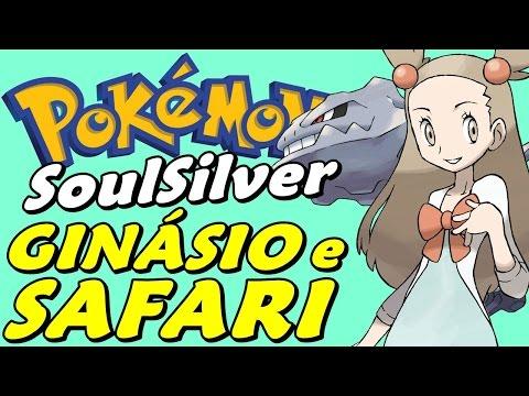 Pokémon SoulSilver (Detonado - Parte 14) - Ginásio Da Jasmine E Safari Zone