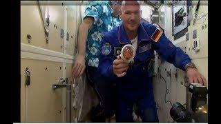Angekommen! Alexander Gerst schwebt in die ISS