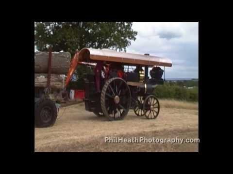 James Ragsdale Traction Engine at Welland Steam Rally 2015
