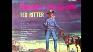 Little Joe The Wrangler sung by Tex Ritter