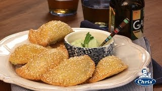 Corn Cheese And Chilli Empanadas
