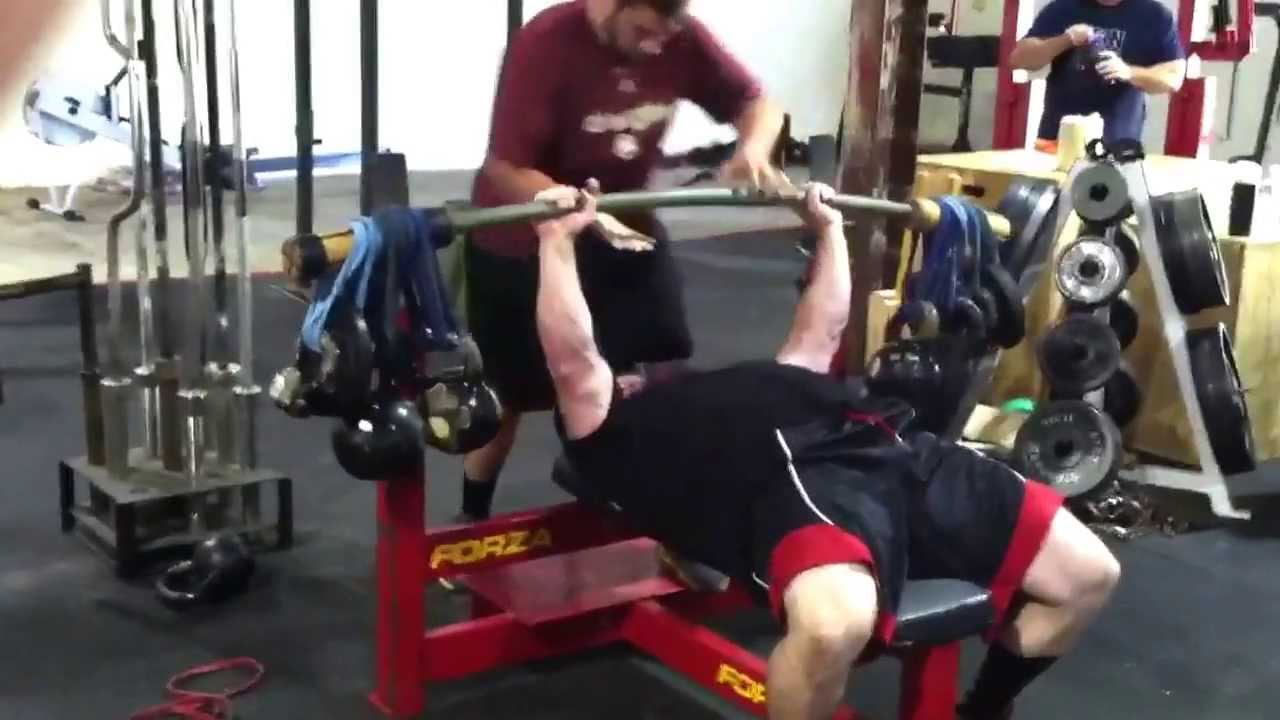 Bamboo Bar Earthquake Bar Bench Press Youtube
