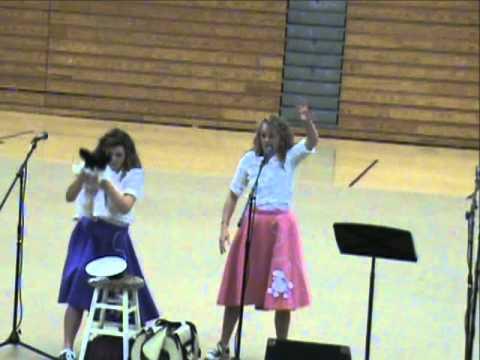 Central Hardin Talent Show 2012: Katie Bowles and Jessie Key