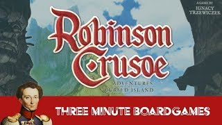Robinson Crusoe in about 3 minutes