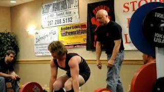 karen campbell s 462 7 lb deadlift sets new world record