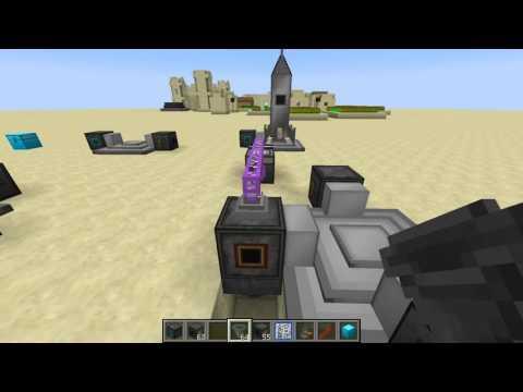 как запустить ракету в minecraft с модом galacticraft 1.6.4