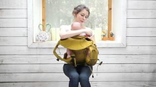 아이랑 힙시트아기띠 캥거루 및 목받침 탈부착방법