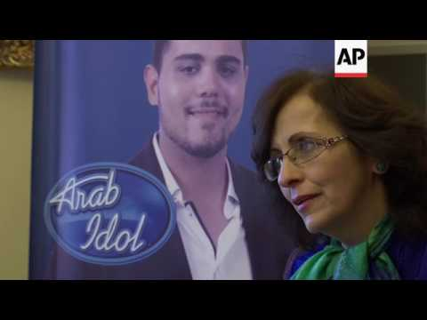 Parents of the two Palestinian contestants speak ahead of final