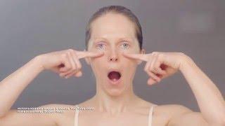 Анастасия Бурдюг: гимнастика для лица Суперлицо на видео