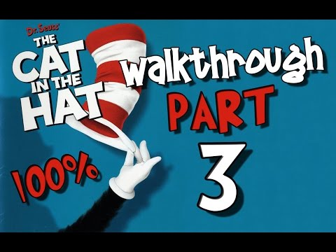 Dr. Seuss' The Cat in the Hat Walkthrough Part 3 (PS2, XBOX, PC) 100% Level 3 - Musical Madness