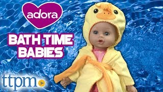 BathTime Babies Doll from Adora