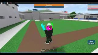 roblox | prison life no players just me | gravity hack | swag