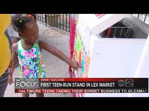 Baltimore-made sorbet business creating jobs, opportunities for inner city teens