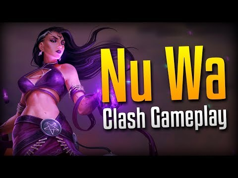 Smite: Clashic Game of Smite...- Dark Summoner Nu Wa Clash Gameplay