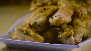 Garlic chicken - Pollo al ajillo