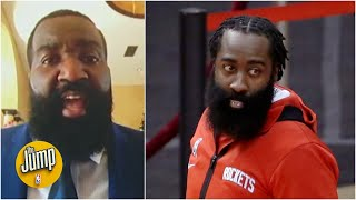 Kendrick Perkins on James Harden: I thought that was me on the court last night | The Jump