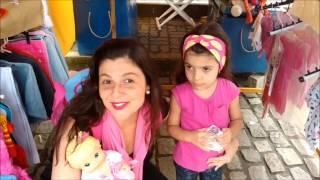 COMPRANDO ROUPINHAS PARA BABY ALIVE - ANNY E EU