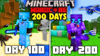 I Survived 200 Days in Minecraft Hardcore... Here's what happened.