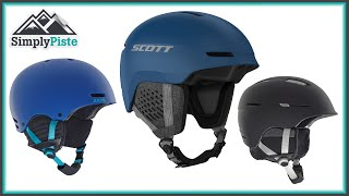 Ski Helmet - How to choose the right ski helmet and get the perfect fit - www.simplypiste.com