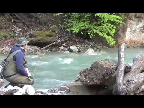 Wildes Wasser - Alpines Fliegenfischen an der Samina
