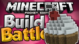 I SCREAM FOR ICE CREAM!!! - MCPE Build Battles - Build Wars Minigame - Minecraft PE (Pocket Edition)