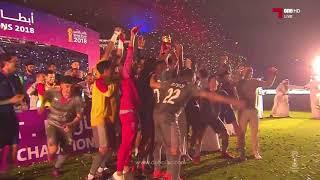 تتويج الدحيل بطلاً لكأس الأمير 2018