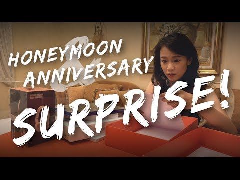 Jared & Marianne: Honeymoon & Anniversary Surprise