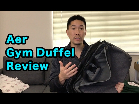 Aer Gym Duffel product review (gym / work bag)