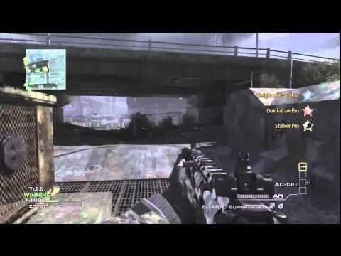 MW3: SCAR-L + AH-6 GAMEPLAY/COMMENTARY [TDM 37-2]