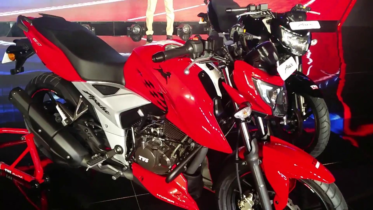 New 2018 TVS Apache RTR160 4V FI: Walkaround and First Impressions