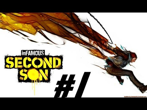 Infamous Second Son #1 - Smoke Boy and Concrete Queen