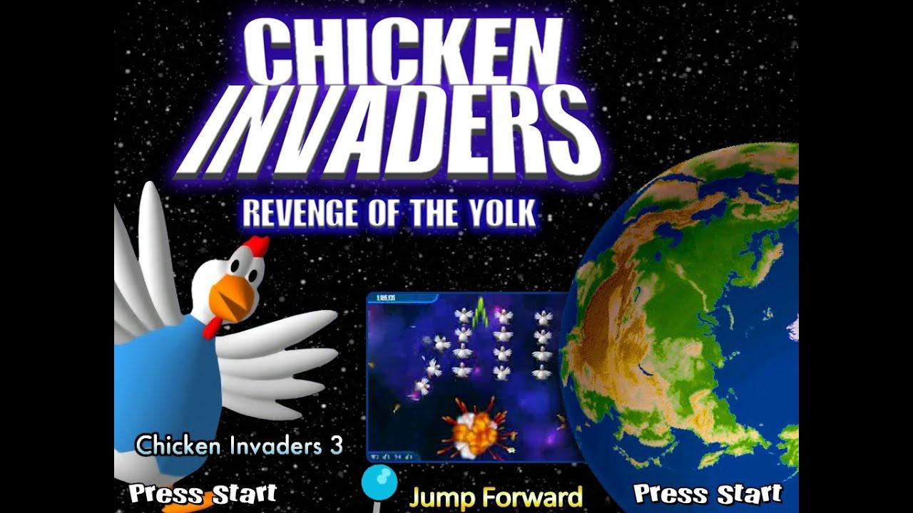 chicken invaders تحميل لعبة كاملة