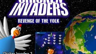 تحميل جميع اجزاء لعبة الدجاجة من 1 الى 5 Chicken Invaders كاملة على الكمبيوتر و بربط مباشر