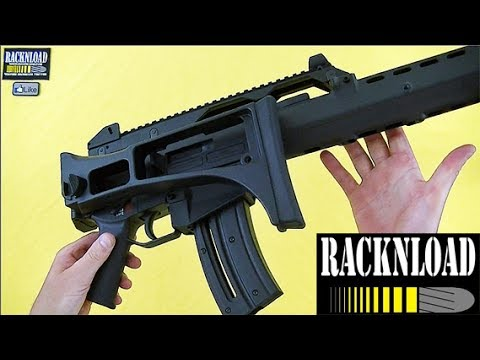 Heckler & Koch G36 Walther .22lr **FULL REVIEW** by RACKNLOAD