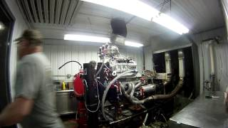 Blown Alcohol Engine Dyno Pull Exhaust E...