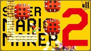 Super Mario Maker 2 #11 - Swoją drogą, booszno tu dzisiaj!