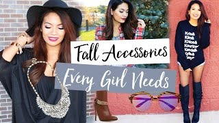 Top Fall Accessories Trends Every Girl Needs | BaubleBar.com | Belinda Selene