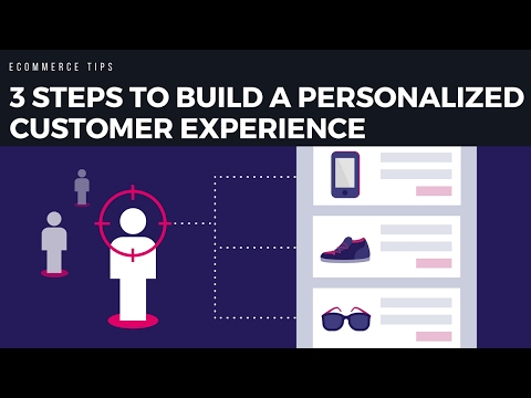 3 steps to building a Personalized Customer Experience on your Ecommerce site