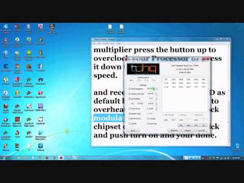 How to Overclock Any, Intel Or Amd Cpu 2014
