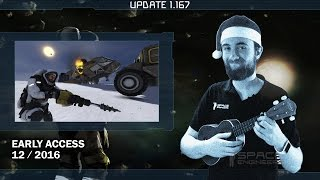 Space Engineers - Update 01.167 STABLE, DEV - Beta Bugfixes and Improvements